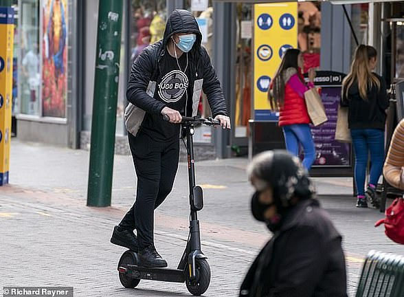 Young people from wealthy urban areas are increasingly turning to bicycles and e-scooters