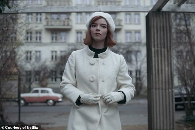 It is redolent of another struggle for supremacy which has gripped millions of viewers across the world in recent weeks: The Netflix series The Queen's Gambit, in which Beth Harmon (played by Anya Taylor-Joy) takes on the intensely male world of grandmaster chess