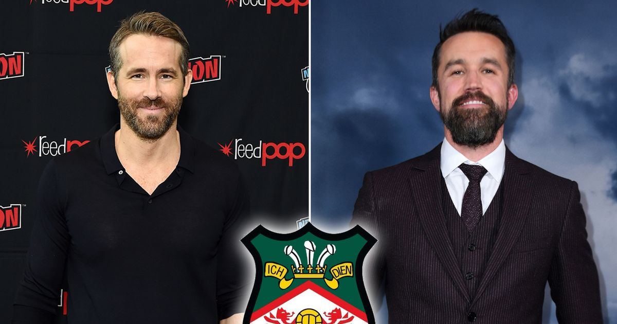 Hollywood actors Ryan Reynolds and Rob McElhenney to complete Wrexham takeover
