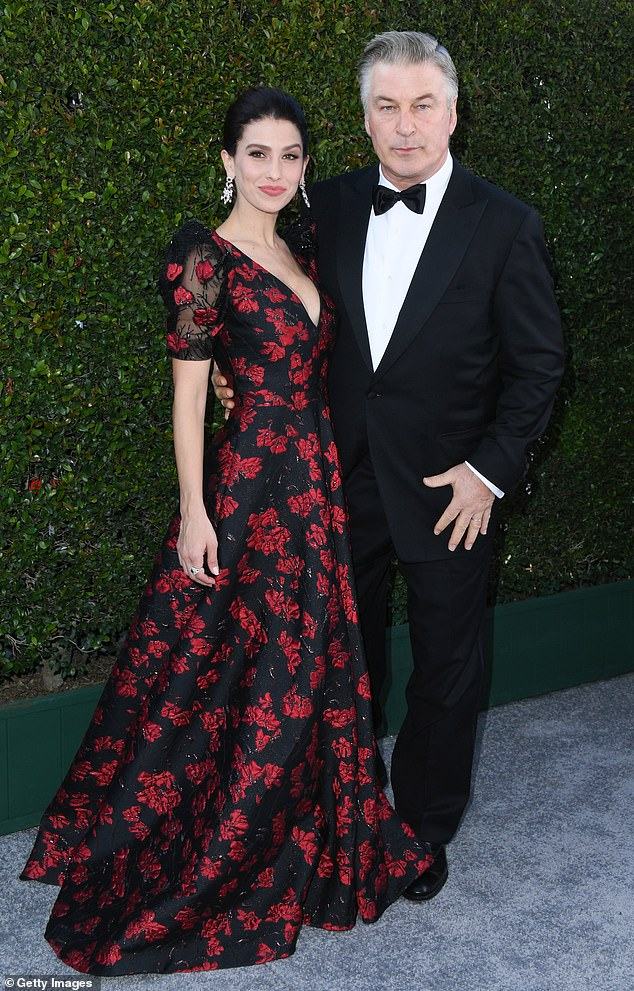 Power couple: She has been married to Alec since June 2012. The actor also has an older daughter Ireland, 25, from his marriage to Kim Basinger, 66; shown in January 2019