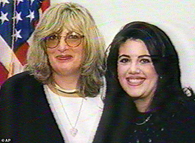 Tripp infamously secretly recorded conversations with White House intern Monica Lewinsky that led to Bill Clinton's impeachment in 1998