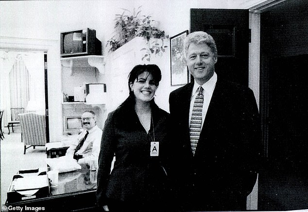 Meanwhile Monica Lewinsky was in hot pursuit of Clinton that began in November 1995 and continued through May '97