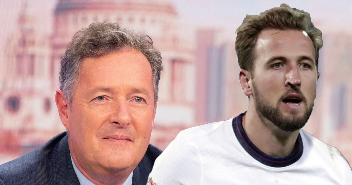 Kane shuts down Piers Morgan when he puts him on spot with Arsenal question