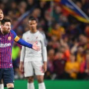 Lionel Messi's response when referee told him to show Liverpool some respect