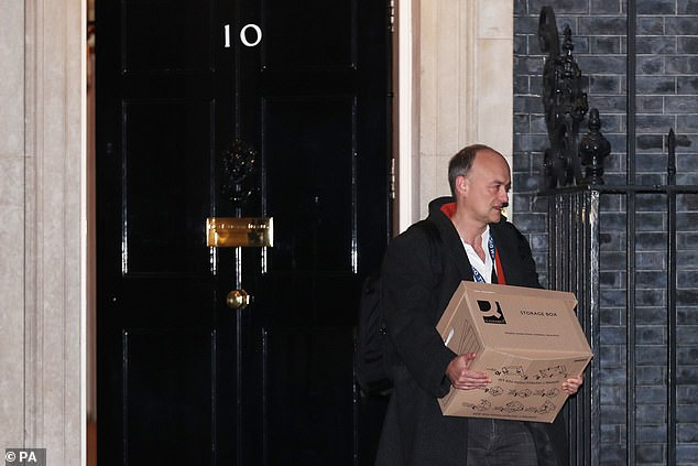 Dominic Cummings made a theatrical exit out of the front door of Number 10 last Friday