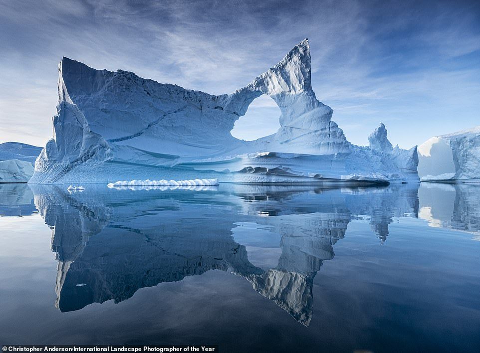 Iceberg Alley is the name of this stunning image by Christopher Anderson, which made it into the top 101. He snapped the photo in Scoresby Sund in eastern Greenland
