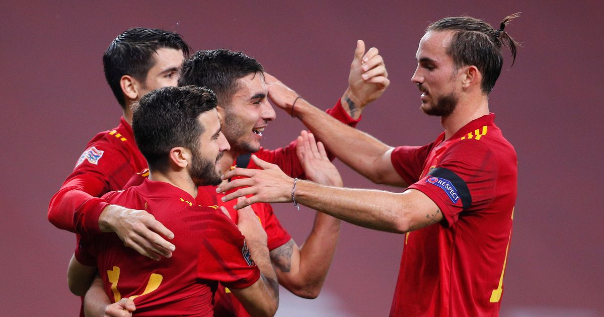 Ferran Torres scores hat-trick as Spain hit Germany for six