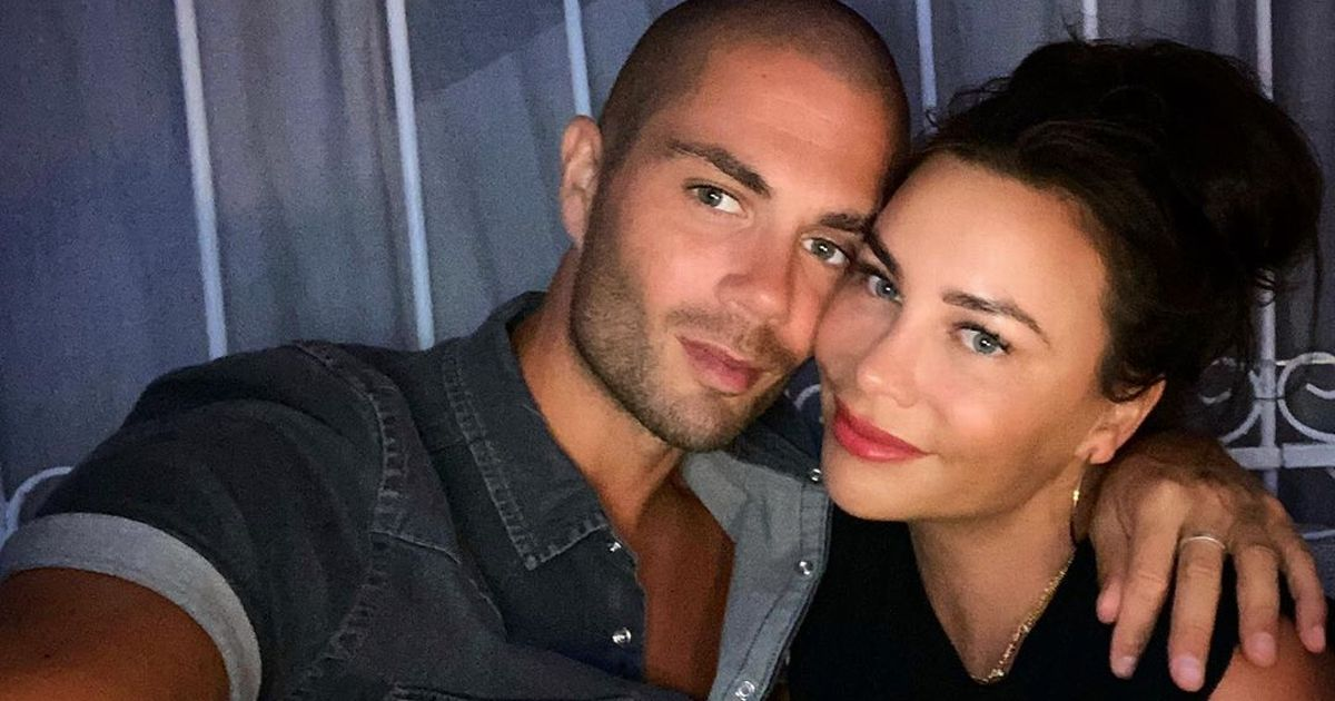 Max George in loved-up reunion with girlfriend Stacey Giggs after Strictly axe