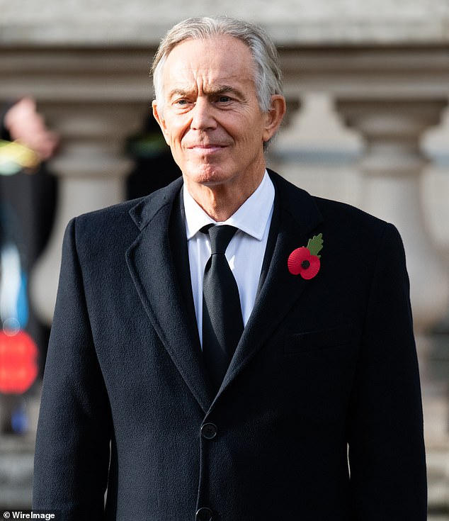 Devolution was seen by the Tony Blair's (pictured) Labour Party as the legacy of his late predecessor John Smith, who died from a heart attack in 199