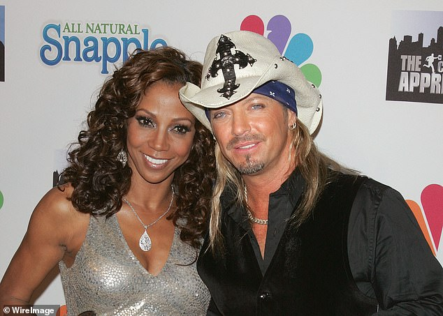 Singer Bret Michaels ended up wining Celebrity Apprentice Season 3 on May 23, 2010. Peete and Michaels pictured at the finale after party