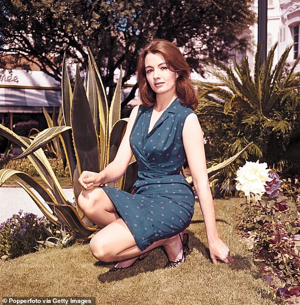 Christine Keeler in Cannes, France in May 1963; her affair with Profumo lasted just a few weeks but transformed her whole life