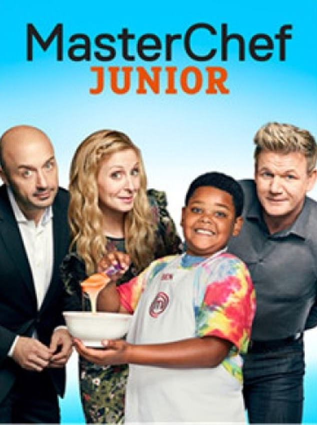 Sad: Watkins had recently filmed MasterChef Junior's sixth season at the time his parents died