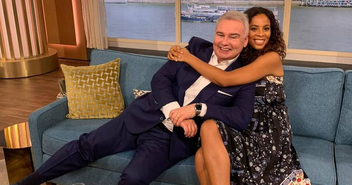 Eamonn Holmes gets support from This Morning guest host Rochelle Humes after axe