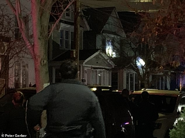The NYPD released a statement after midnight on Wednesday local time saying that officers were continuing to negotiate with the individuals inside the home