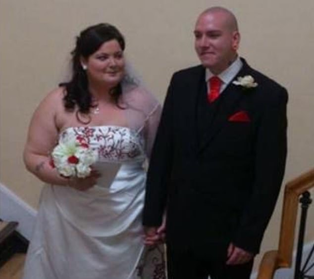 Louise had been living with Shane Mays (right) and his wife, Chazlynn Jayne Mays (left), 29