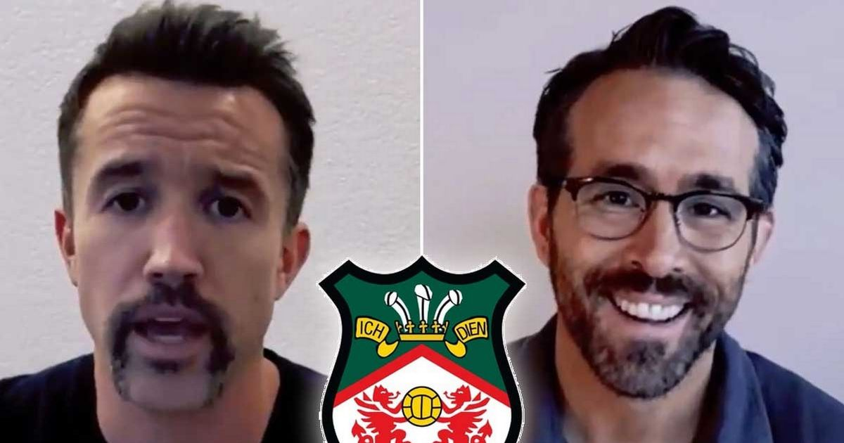 Ryan Reynolds and Rob McElenney 'utterly serious about revitalising Wrexham AFC'