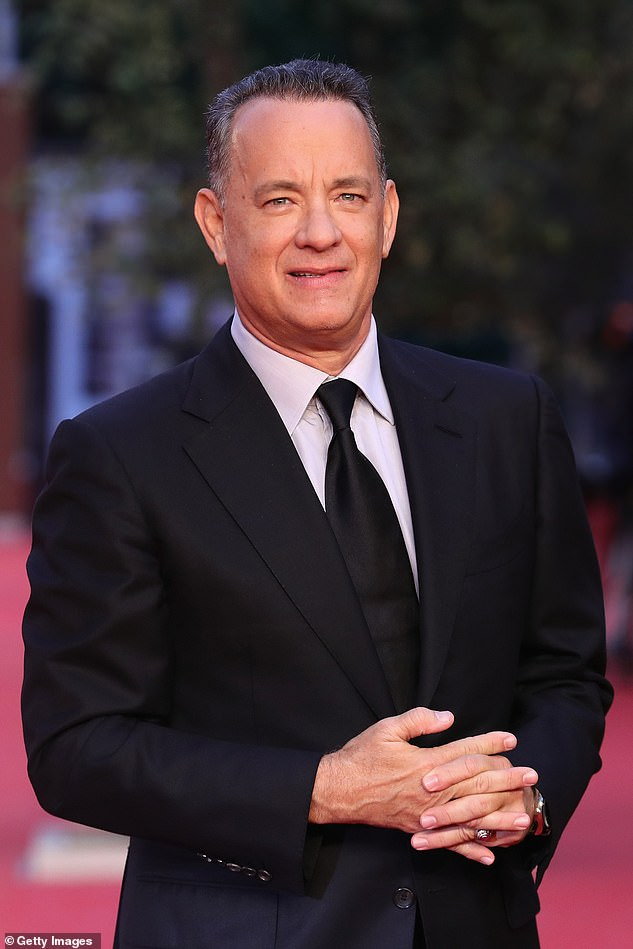 'The nicest fella': The presenter, 44, said that the movie star, 64, even recognised him when they met for a second time at a press event, calling him a 'good guy', years after their first encounter (Tom is pictured in 2016)