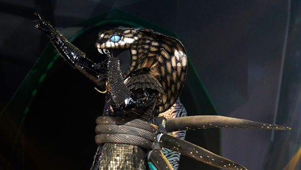 'The Masked Singer's Serpent Admits He Felt Like 'A Fish Out Of Water' Performing On TV For 1st Time Ever