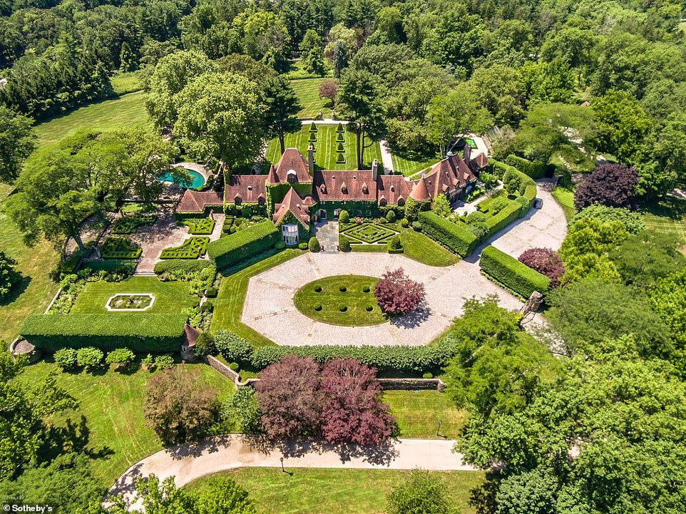 Hear today, gone tomorrow: The stately mansion was put on the market in September at an asking price of $47.5 million, and it was quickly snapped up
