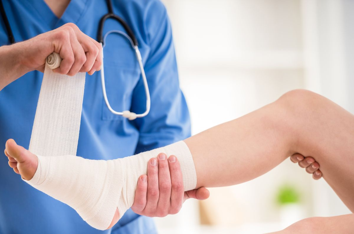 "Why a sprain may ""never"" heal 