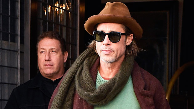 Brad Pitt Dresses Down In Jeans To Deliver Groceries To Families Amid Pandemic In Rare Outing