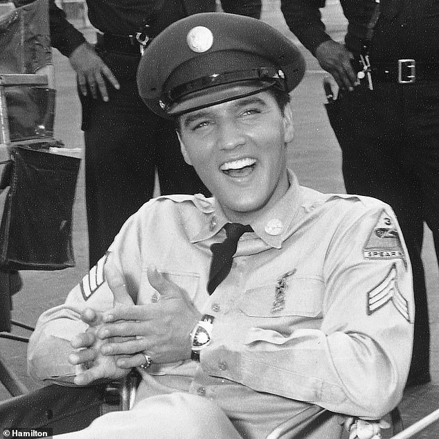 Hamilton International, part of the Swatch Group, provided evidence that they have been selling watches bearing the name since 1892. Pictured: Elvis Presley wore the firm's Ventura watch in his musical comedy Blue Hawaii