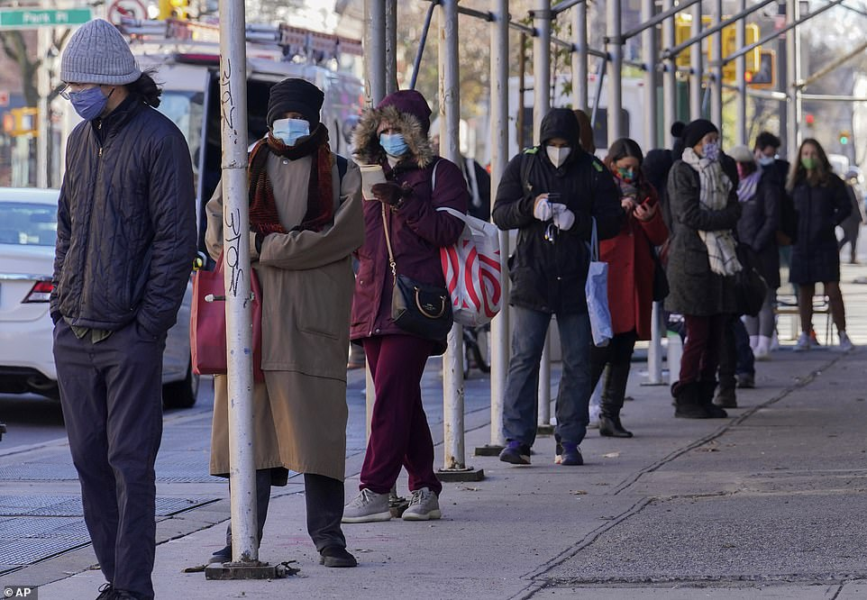 NYC: Lines spanned multiple city blocks at testing sites across New York City this week, leaving people waiting three or more hours before they could even enter health clinics