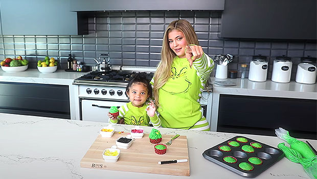 Kylie Jenner's Daughter Stormi, 2, Calls Her 'So Beautiful' As They Make Grinch Cupcakes In Matching PJs