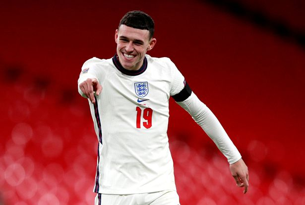 Phil Foden is pushing for a place in Southgate's XI
