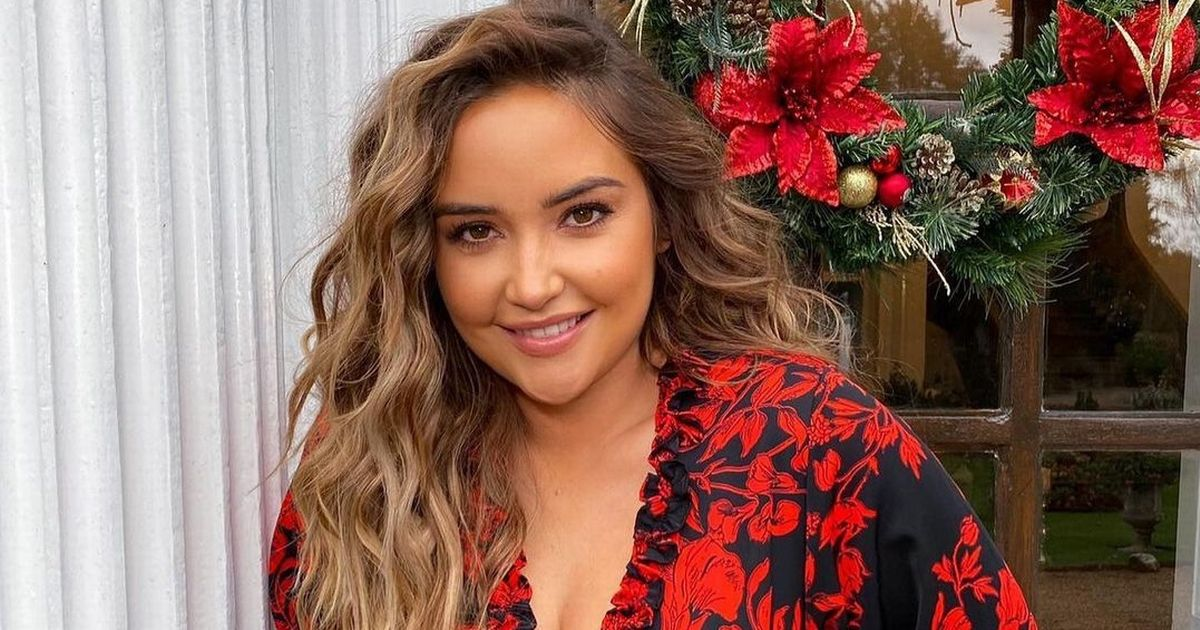 Jacqueline Jossa looks stunning as she poses for snaps of clothing collection