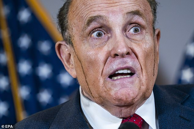 The Republican senators were critical of claims made during a bizarre Thursday news conference in Washington, DC, where the president's personal attorney, Rudy Giuliani, made wild allegations of voter fraud while suffering a hair-dye malfunction