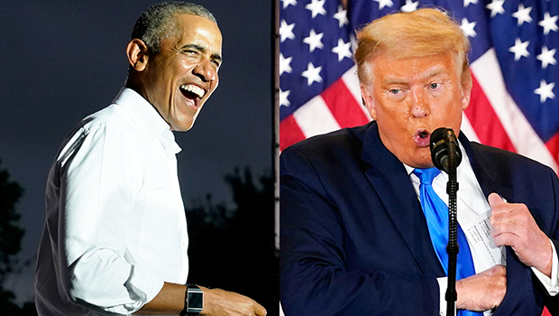 Barack Obama Jokes That Navy Seals Can Be 'Sent In' To Remove Donald Trump From The White House On 'Jimmy Kimmel'