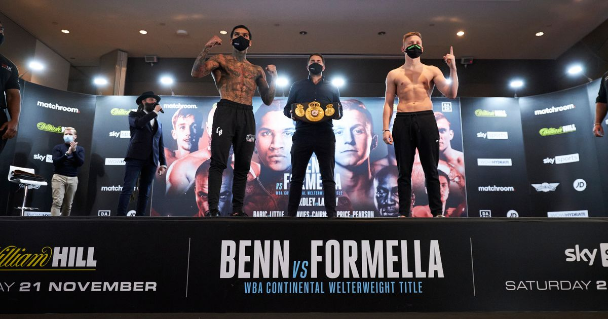 Conor Benn can prove he is world class by dominating Sebastian Formella
