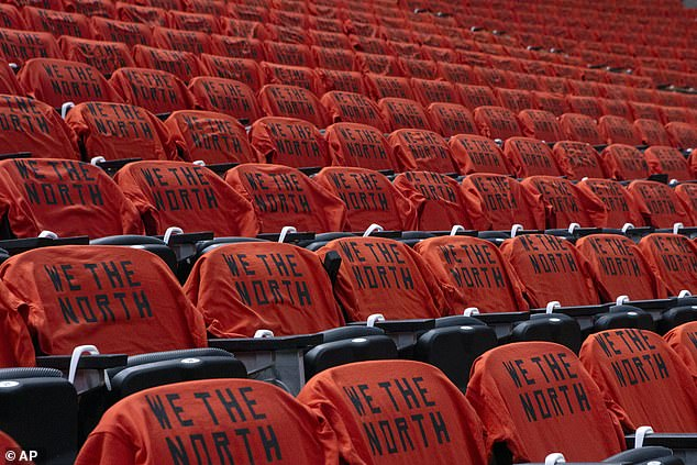The Raptors have adopted the slogan 'We The North' in a nod to HBO's Game of Thrones