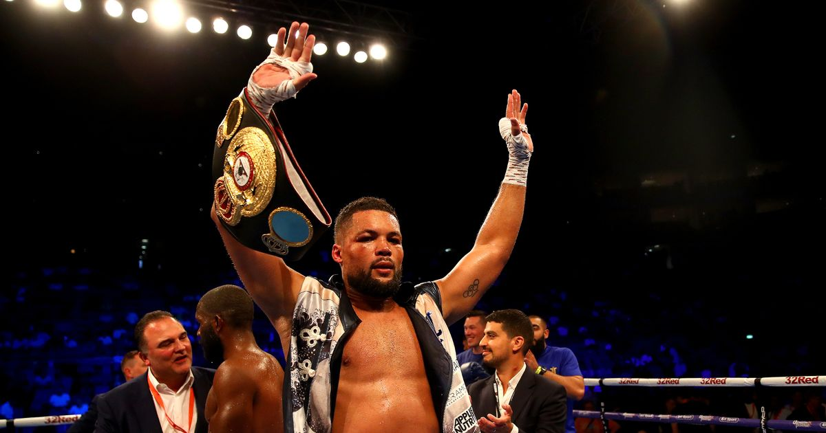 Joe Joyce plans to stand firm just like Winston Churchill's loved Church House