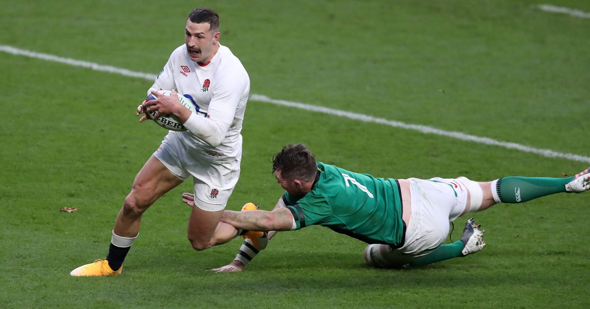 Jonny May stars as England reignite Autumn Cup campaign with Ireland win