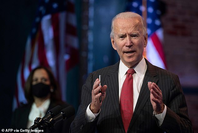 Biden is only the second president in U.S. history to be a member of the Catholic Church