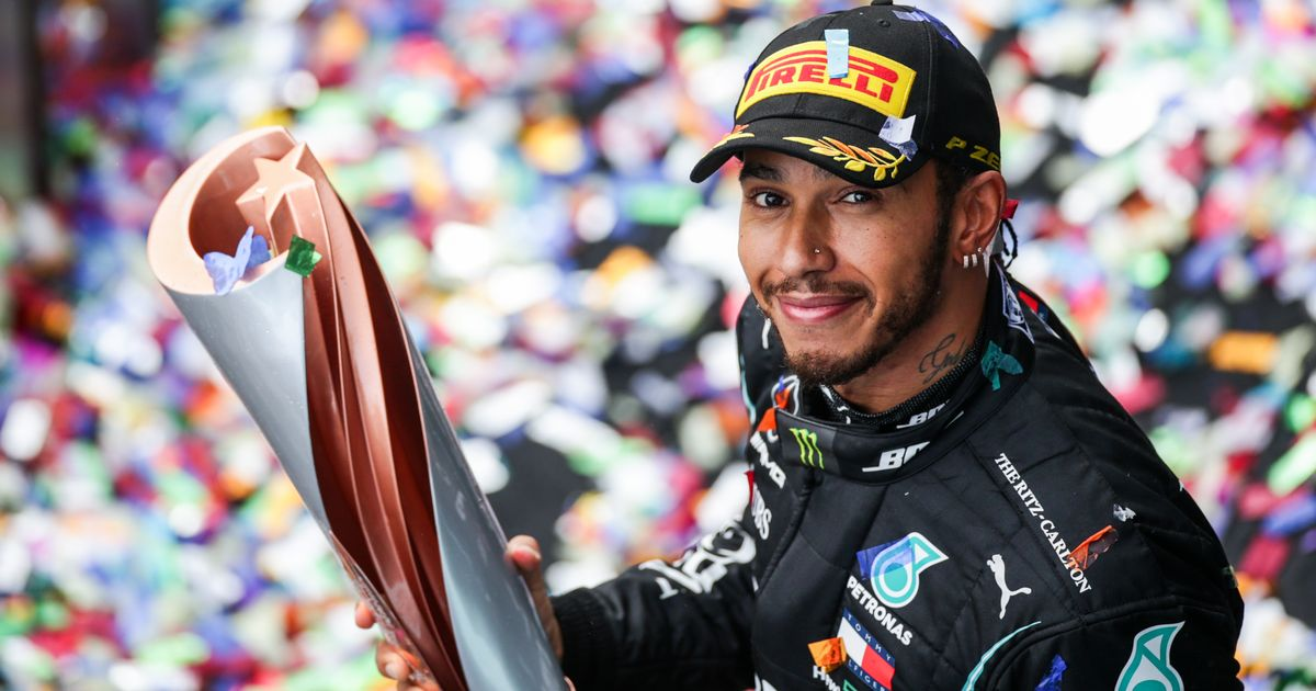 Hamilton to land knighthood in New Year's Honours after seventh F1 world title
