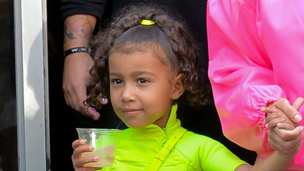 North West, 7, Looks So Cute Modeling Her SKIMS Cozy Collection At Photoshoot — Watch
