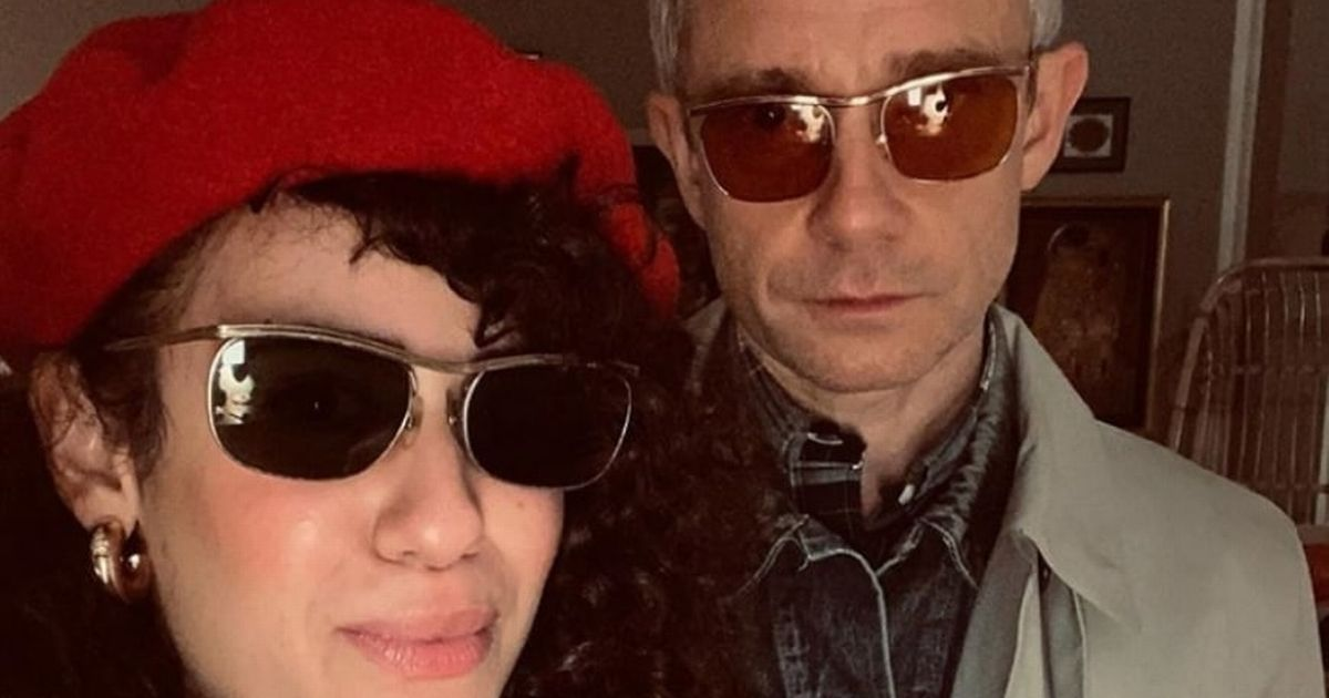 Sherlock star Martin Freeman linked to French actress decades younger than him
