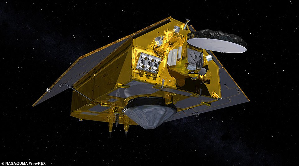 The Sentinel 6 program is made up of two identical satellites, with the first (seen in the above rendering) launching on this mission, they will monitor sea level change from space