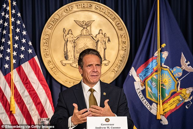 Th wedding was in direct defiance of Cuomo coronavirus restrictions on gatherings