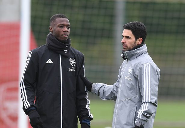 Nicolas Pepe could be in line for a start