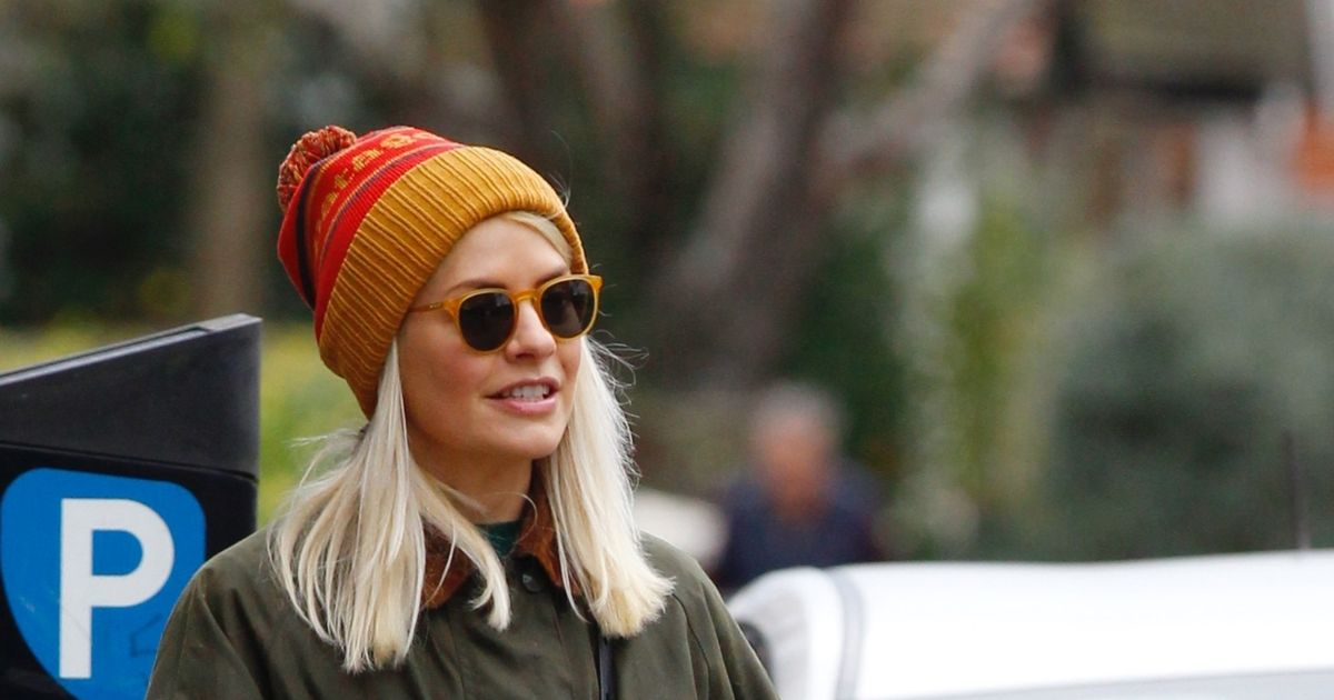 Holly Willoughby heads out for the first time following coronavirus scare