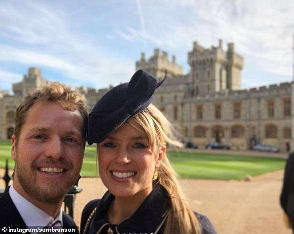 She married Virgin heir Sam Branson and couple aren't lacking in royal connections, attending Princess Eugenie's wedding to Jack Brooksbank at Windsor Castle in October 2018