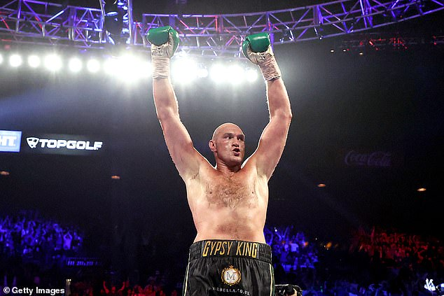 The 54-year-old may face off against the likes of Tyson Fury (above) to raise money for charity