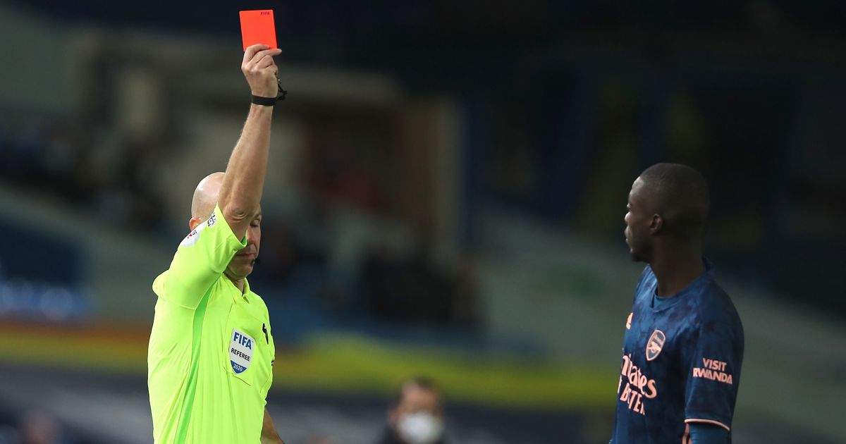 """Evra slams Pepe and tells Arsenal star not to """"come crying"""" after red card"""