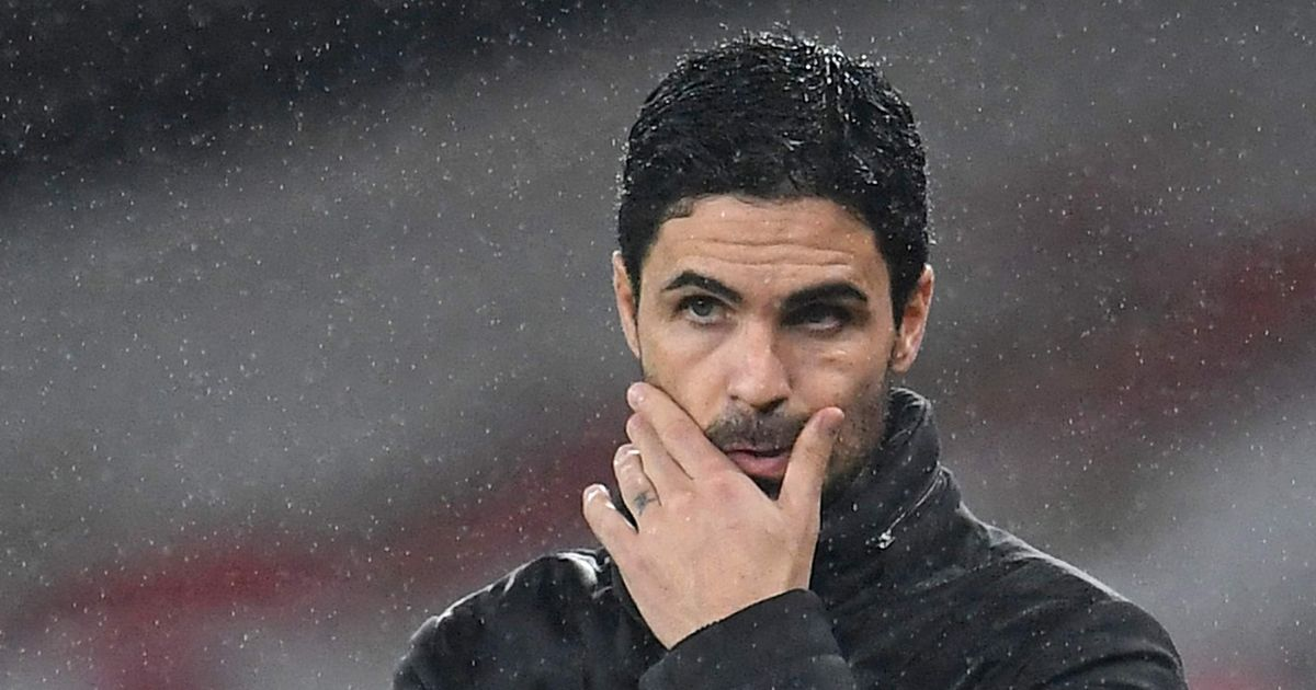 Mikel Arteta admits he's 'worried' about Arsenal after drawing a blank at Leeds