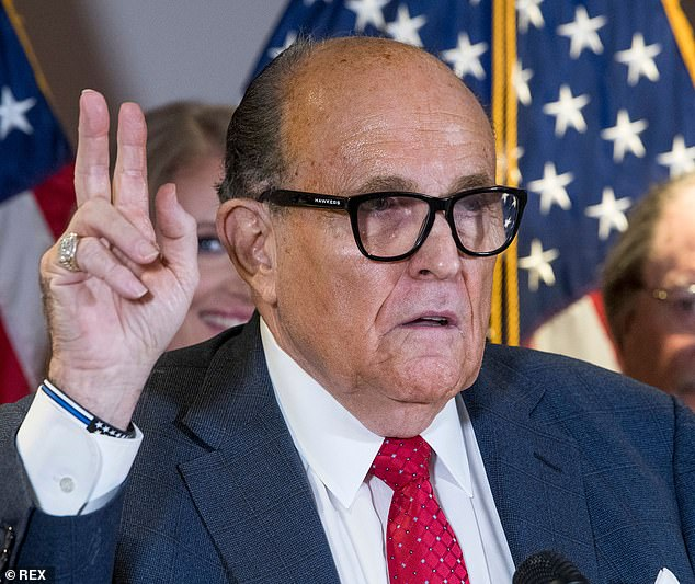 Giuliani on Thursday staged a riveting press conference to make wild accusations of fraud