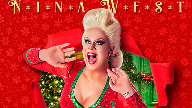 'Drag Race' Alum Nina West Lives Out Her Full John Waters Christmas Fantasy In 'Cha-Cha Heels'